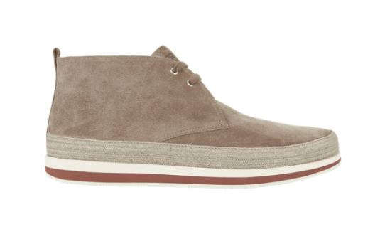 1. Prada Espadrille Chukka Sneakers
