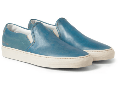 2. Common Projects Leather Slip-On Sneakers