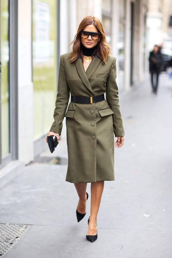 Christine Centenera at Paris Fashion Week 2014 | Photo Diego Zuko