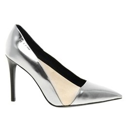 See By Chloe Silver Pointed Court
