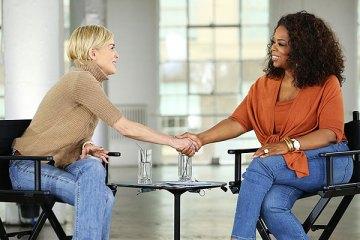 "Sharon Stone on Oprah's ""Aging Gracefully"""