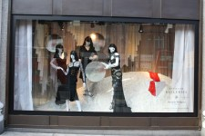 Alexander McQueen window Selfridges womens designer galleries
