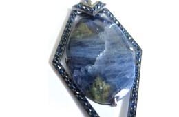 LRVT Tanzanite & Blue Sapphire Pendant