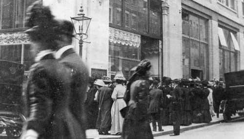 Selfridges in 1910s