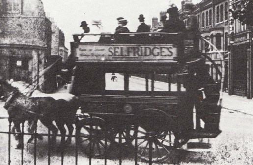 Selfridges Advertising in 1910