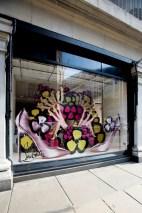 World of Louboutin Windows Selfridges Concept Store London