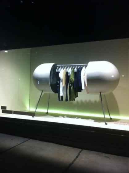 'Capsule' wardrobe at Selfridges