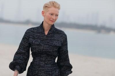 Tilda Swinton at Chanel Cruise 2015