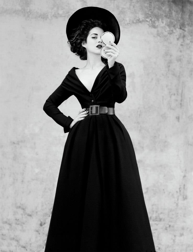 Dior Abandon dress in black wool, Haute Couture Fall-Winter ...