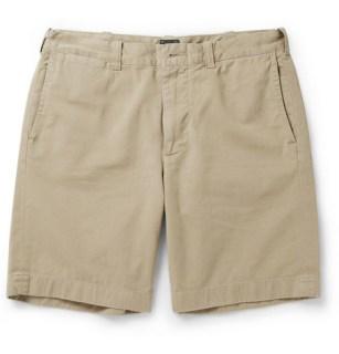 "J. Crew 9"" Stanton Cotton-Twill Shorts,"