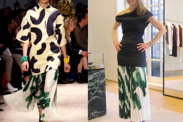 Celine Runway To Reality