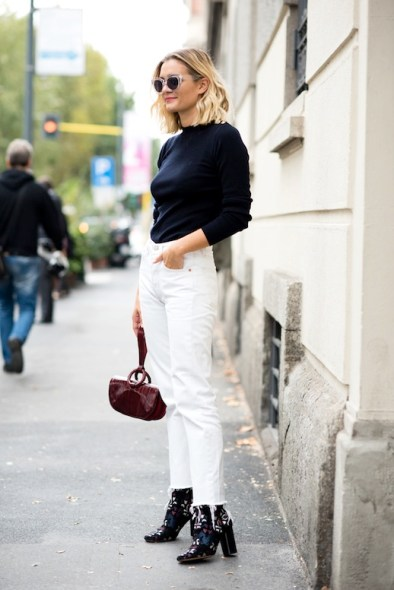 Le-Fashion-Blog-Winter-Street-Style-Black-Sweater-Burgundy-Wristlet-White-Boyfriend-Vintage-Jeans-Isabel-Marant-Suede-Embroidered-Ankle-Boots-Via-Adenorah