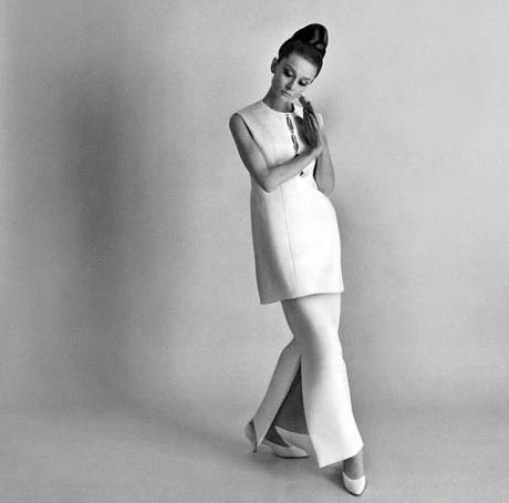 Audrey Hepburn photographed by Cecil Beaton for Vogue, 1964.