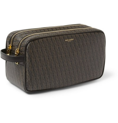 Saint Laurent Canvas Toiletry Bag