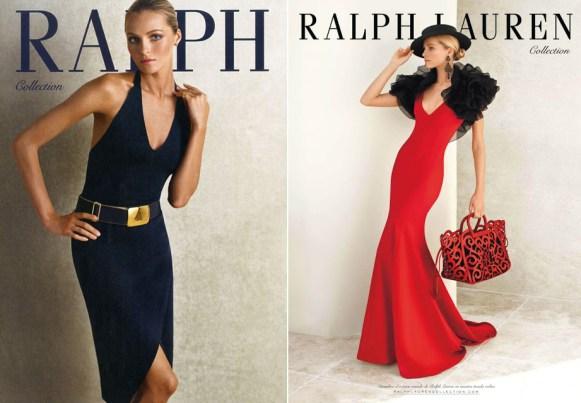 Ralph Lauren Ads Valentina Zelyaeva