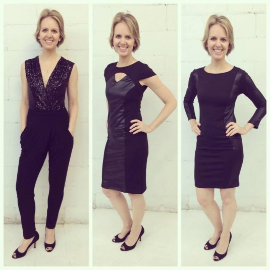 Jumpsuit and dresses by Ricardo Pineres
