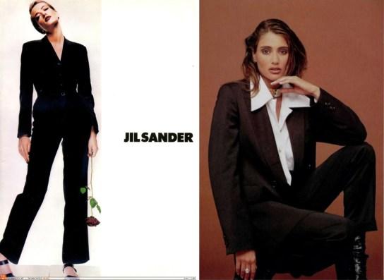 Jil Sander 1992 and 1993
