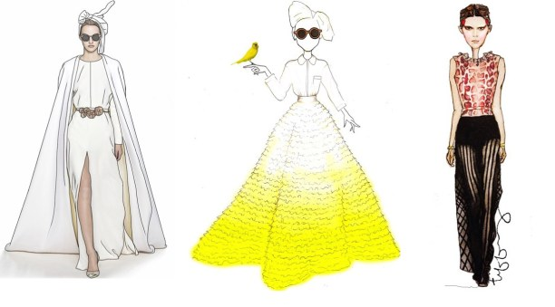 couture fashion illustration