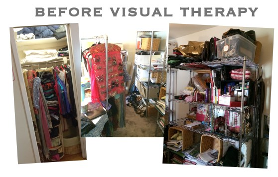 Emme's Closet Before Visual Therapy