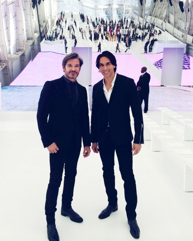 Joe & Jesse at Dior Fall 2014 Show in Brooklyn