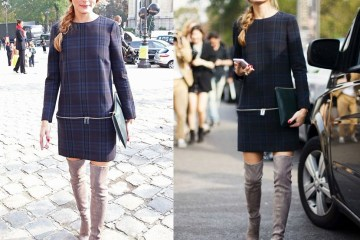Olivia palermo work appropriate boots