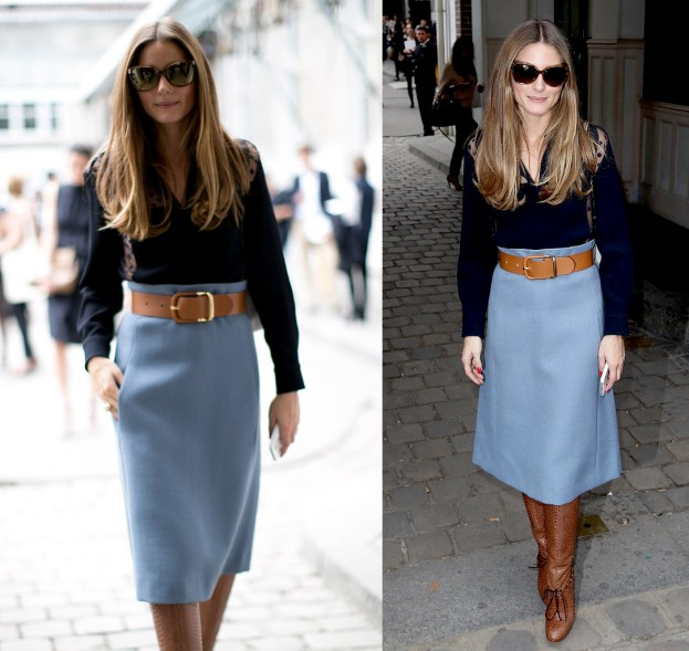 Olivia-Palermo-perfected-classics-powder skirt