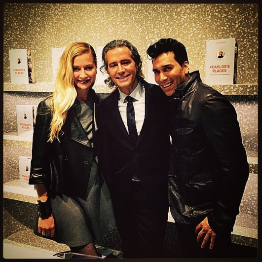 VT Stylists Lisa Marie & Jesse with Carlos Souza