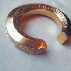Aurora Lopez Mejia Gold CuffAurora Lopez Mejia Gold Cuff