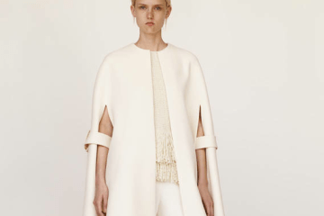 Winter white celine