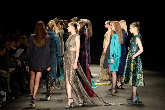 Monique Lhuillier - Runway RTW - Fall 2015 - New York Fashion Week