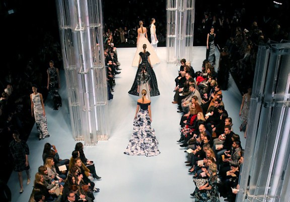 Mercedes-Benz Fashion Week Fall 2015 - Aerial Views