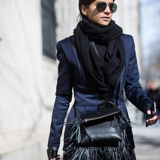 Style Tip: How To Get Photographed At Fashion Week (The Chic Way)
