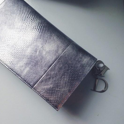 Dior Metallic Clutch