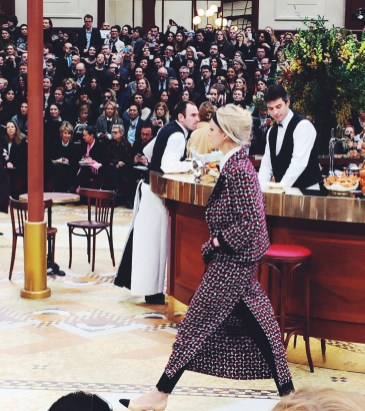 Brasserie Chanel | Chanel fall 2015 Paris show