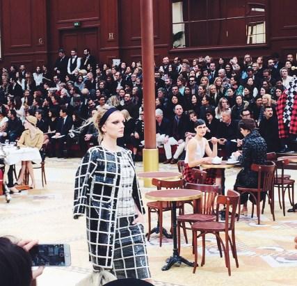 Brasserie Chanel | Chanel fall 2015 Paris show