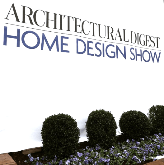 Architectural Digest Home Design Show Highlights