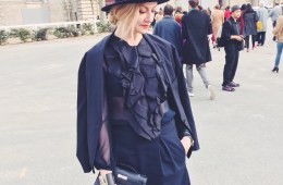Lisa Marie McComb fashion stylist | Paris Fashion Week Street Style Fall 2015