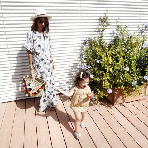 Natasha Goldenberg with daughter Misha