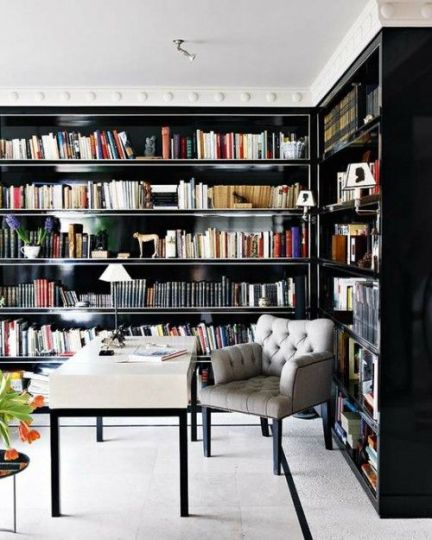 VT Home: Bookworm--The Art Of The Home Library