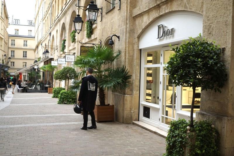 Paris shopping diary  Dior