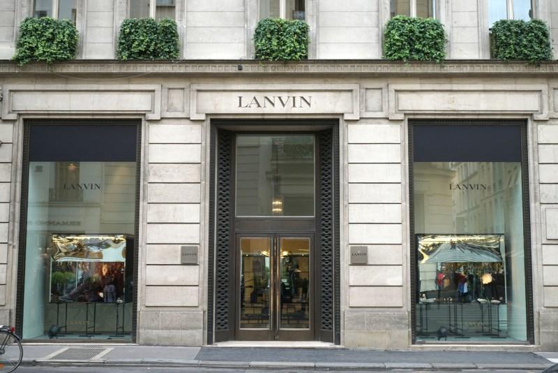 Paris shopping diary   Lanvin