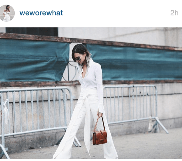 We Wore What Street style NYFWWe Wore What Street style NYFW