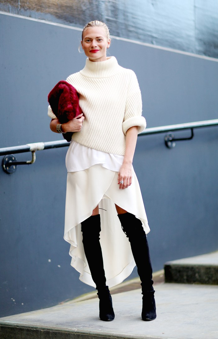 How to Wear White for Fall