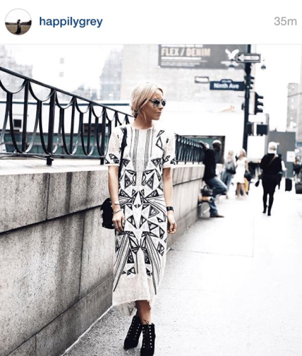 Mary Seng Street style NYFW