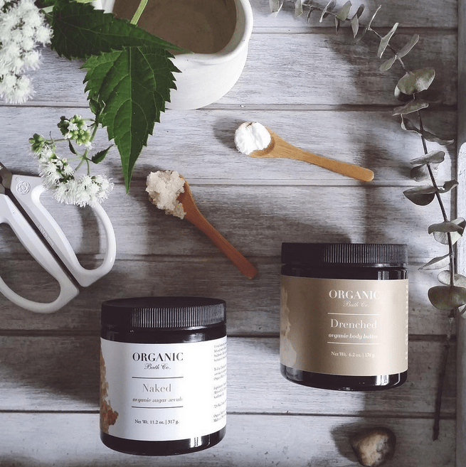 Organic Bath organic skincare and beauty products // Interview with founder Gianne Doherty on visual-therapy.com