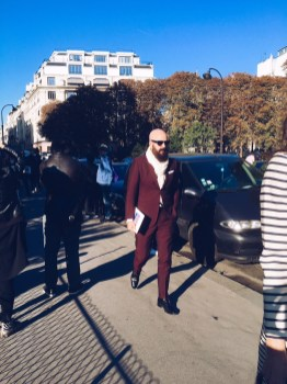Chloe spring 2016 paris fashion week arrivals