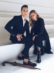 Visual Therapy stylists Jesse Garza and Lisa Marie McComb