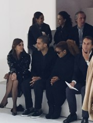 Carine Roitfeld and Janet Jackson in the front row at Hermès