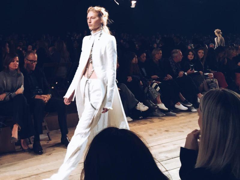 Alexander McCqueen Spring 2016 White look