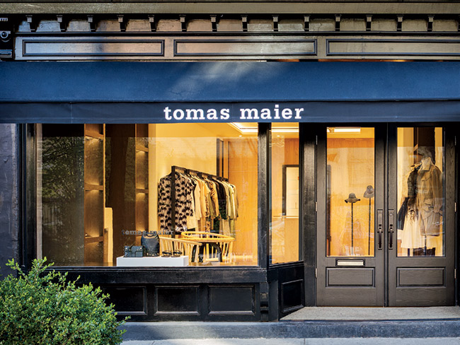Spotlight: Tomas Maier Boutique